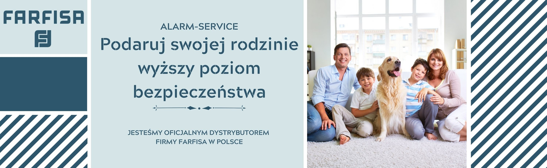 Oficjalny dystrybutor firmy Farfisa - Alarm-Service
